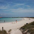 Playa de Illetas, Formentera by John Edwards