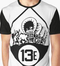 Nebraska State Highway N-13E (1926) | United States Highway Shield Sign Sticker Graphic T-Shirt