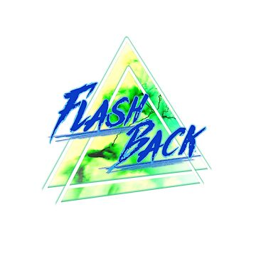 Flash Back Neon Blue & Green by FejuLegacy