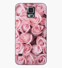 Blush Pink Roses Case/Skin for Samsung Galaxy