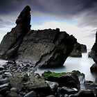 Crescent Head Rocks by Tatiana R