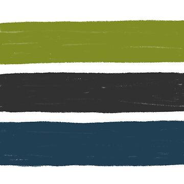 Stripes No.01 by Fefferoni