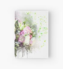 Colorful Rose Bouquet Hardcover Journal