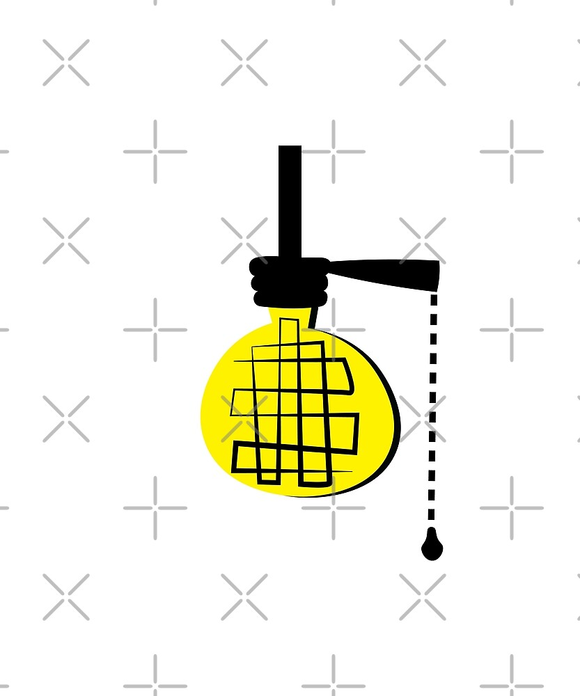 Idea Lightbulb by designkitsch