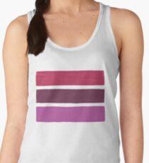 Stripes Lipstick No.02 Women's Tank Top