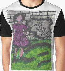 Taking a walk outside the wall Graphic T-Shirt