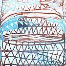Blue net by donna malone
