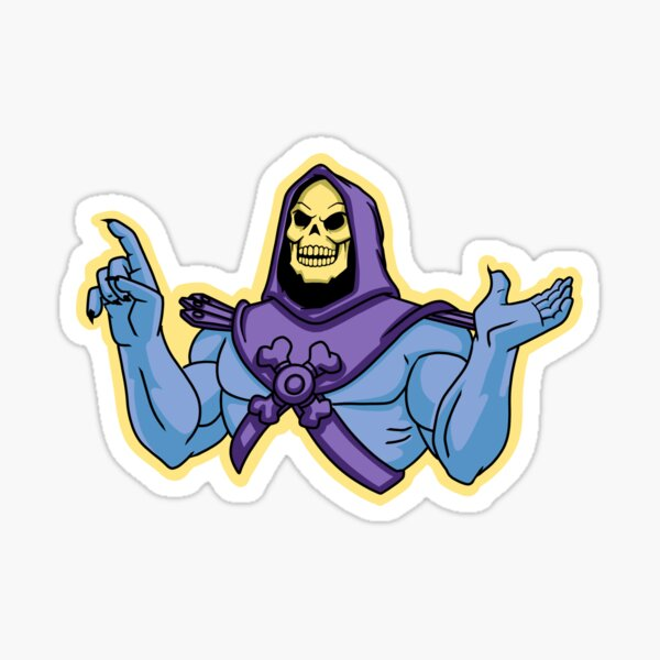 Skeletor Sticker