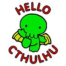 Hello Cthulhu by professorjaytee