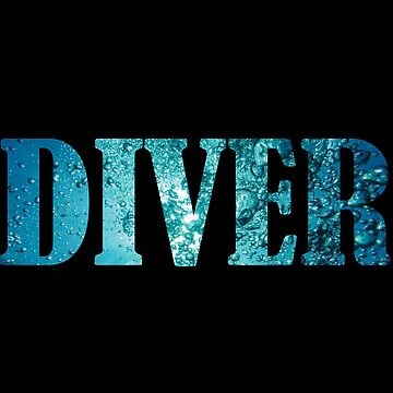 Scuba Diver Design by kudostees