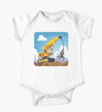 Claw Crane One Piece - Short Sleeve