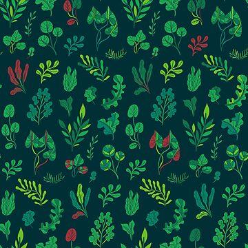 Botanical pattern by kostolom3000