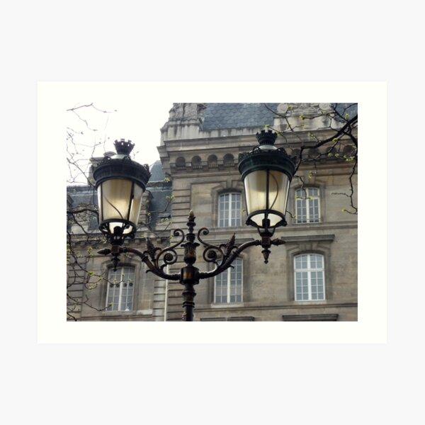 Lamp post Art Print