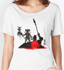 The Game of Kings, Wave Eight: The Black Queen's Pawn Women's Relaxed Fit T-Shirt