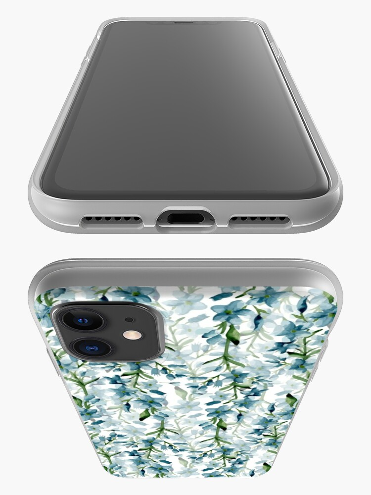 Alternate view of Blue branches iPhone Case & Cover