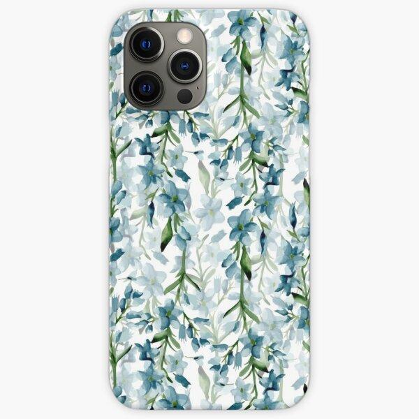 Branches bleues Coque rigide iPhone