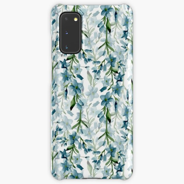 Blue branches Samsung Galaxy Snap Case