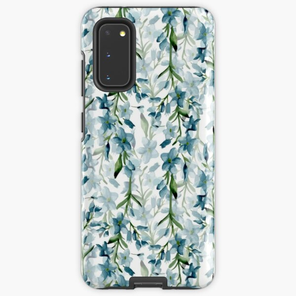 Blue branches Samsung Galaxy Tough Case