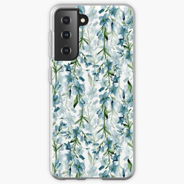 Blue branches Samsung Galaxy Soft Case