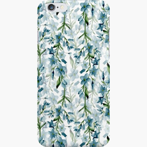 Branches bleues Coque rigide iPhone