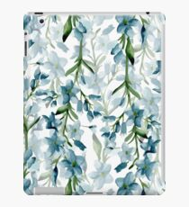 Blue branches iPad Case/Skin