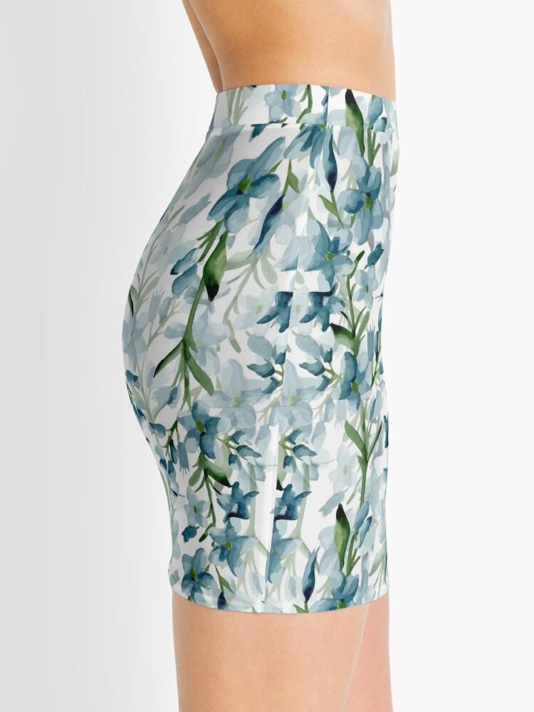 Alternate view of Blue branches Mini Skirt