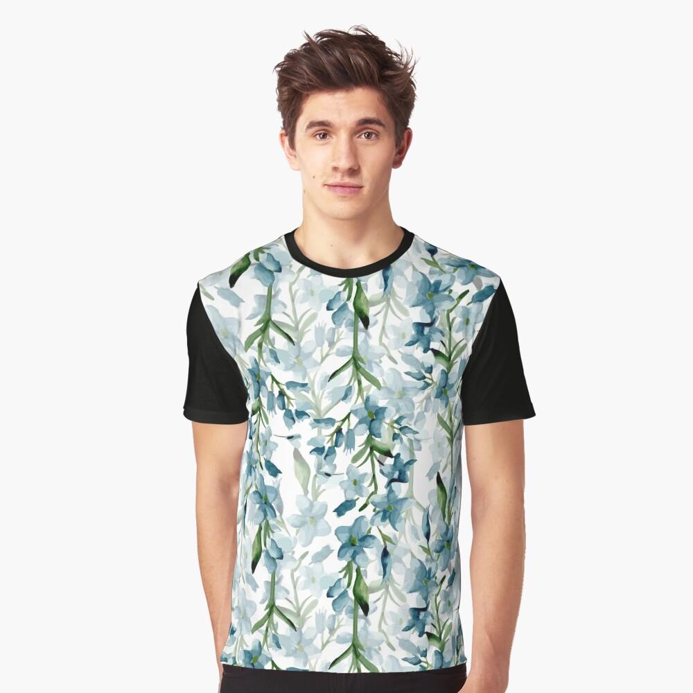 Ramas azules Camiseta gráfica