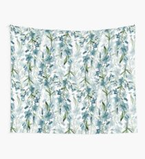 Blue branches Wall Tapestry