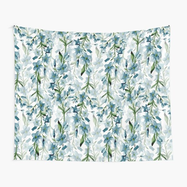 Blue branches Tapestry