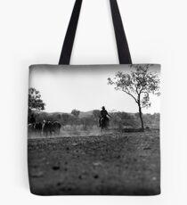 Horse muster Tote Bag