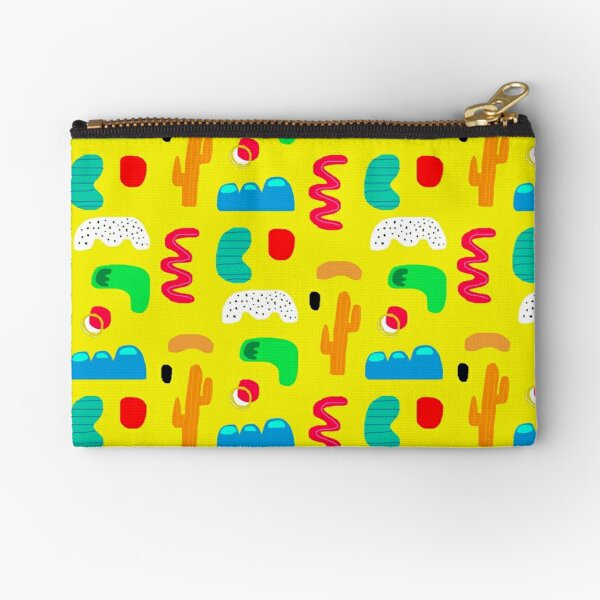 Toes in the desert Zipper Pouch