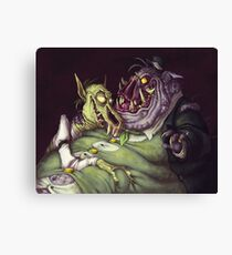 Monster Men Canvas Print