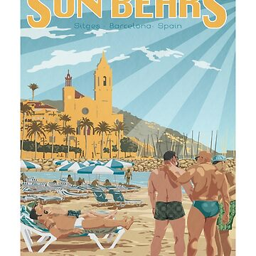 Sun Bears - Sitges, Spain by BearYourArt