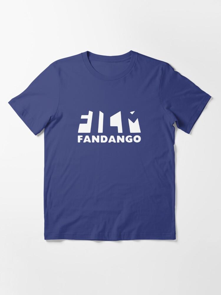 Alternate view of Film Fandango Logo - WHITE Essential T-Shirt