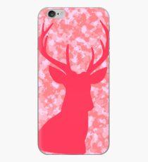 Pink Camo Deer iPhone Case