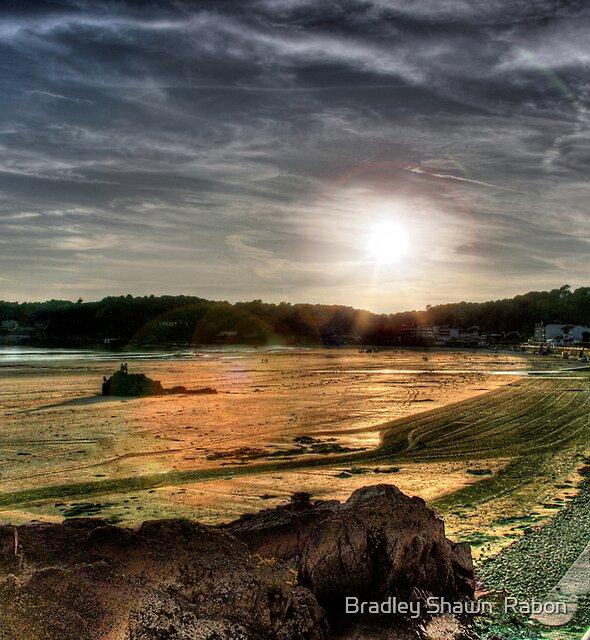 """Sunset at St. Brelade's"" by Bradley Shawn  Rabon"