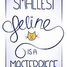 The smallest feline is a masterpiece. by jarodface