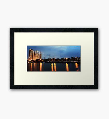 Davis Island Framed Print