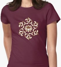 OM LOTUS - Buddhism - Symbol of spiritual strength  Women's Fitted T-Shirt