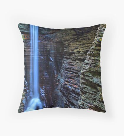 Cavern Cascade Throw Pillow