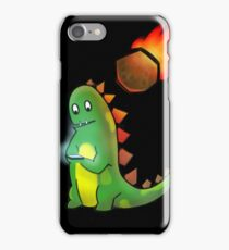 The reason why dinosaurs became extinct iPhone Case/Skin
