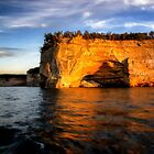 Pictured Rocks National Lakeshore 2 by Kathy Weaver