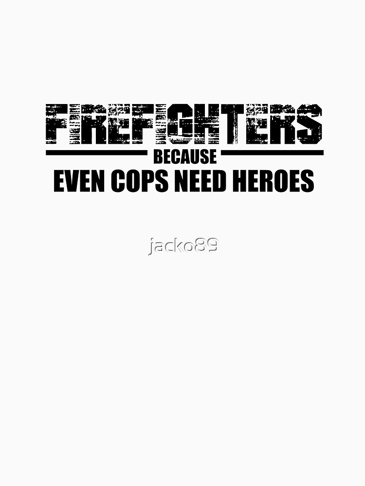 Best Gift for Firefighter Christmas Heroes Shirt by jacko89