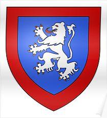 French France Coat of Arms 17245 Blason Lardier et Valenca Poster