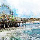 Santa Monica, California by Andrea Mazzocchetti