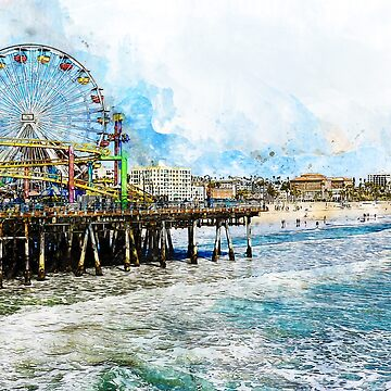 Santa Monica, California by ErianAndre