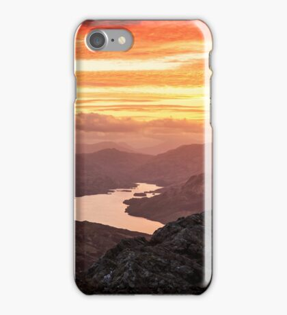 Trossachs Sunset iPhone Case/Skin