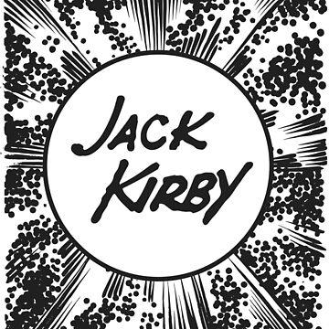 Jack Kirby Krackle! by Ximoc