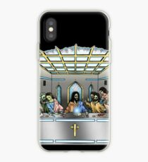 The Last Supper In Space iPhone Case