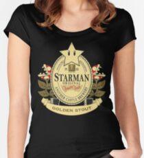Starman Original:  Golden Stout Women's Fitted Scoop T-Shirt